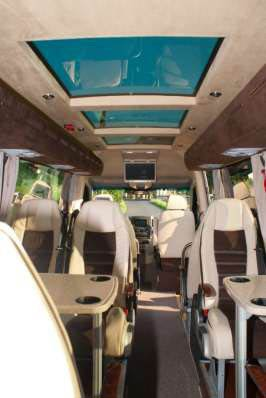 Bus, Mercedes-Benz VIP-Sprinter , heckansicht